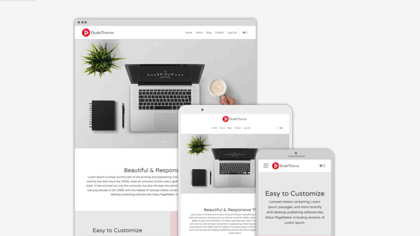 WhiteDot Theme Banner